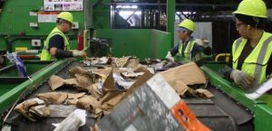 Picture of people working in waste industries